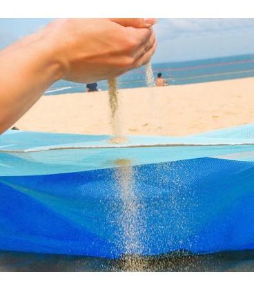 Plážová podložka pikniková deka plážová síť 200x200cm