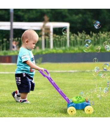 Sekačka pro děti na mýdlo s bublinkami + tekutina
