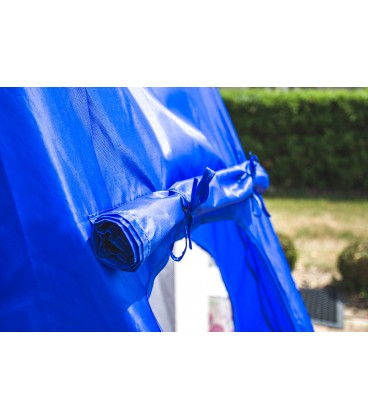 Zahradní houpačka 100CM 150KG modrá