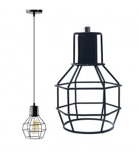 LUSTR ZÁVĚSNÉ LAMPY LOFT INDUSTRIAL DL1404