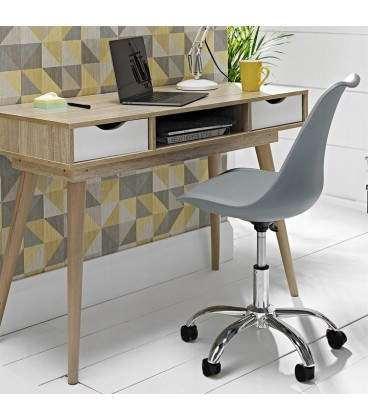 OTÁČECÍ KANCELŘSKÁ ŽIDLE kancelářská židle MODERN šedá