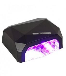 Lampa DIAMOND LED & CCFL 36W černá