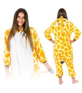 Žirafa KIGURUMI ONESIE TEPLÁKY PYŽAMO KOMBINÉZA KIGU
