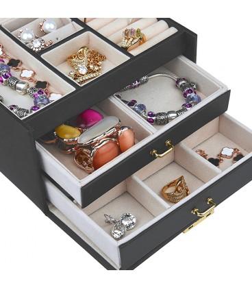 Šperkovnice hrací skříňka - Šedý