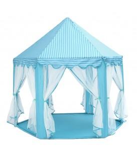 Dětský stan Zámeček modrý