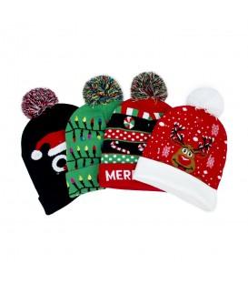 Teplý vánoční klobouk