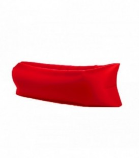 Lazy Bag nafukovací VAK XXL červená