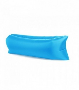 Lazy taška na air mattress ležak na Air XXL světle modrá