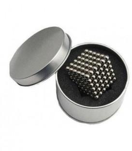 Neocube – magnetické kuličky 216 ks 3mm stříbro