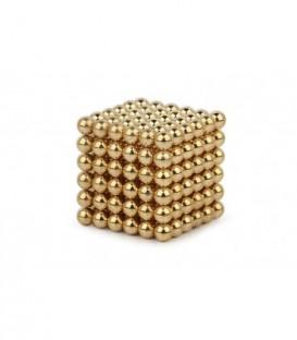 Neocube – magnetické kuličky 216 ks 3mm zlato