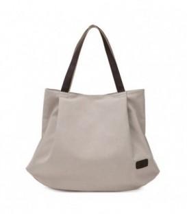 Dámská taška velká taška béžový CANVAS07