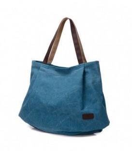 Dámská taška velká taška modrý CANVAS07
