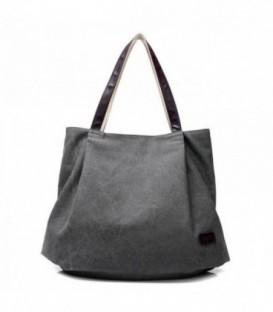 Dámská taška velká taška šedá CANVAS07