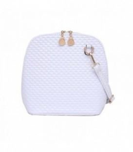 Dámská kabelka na rameno bílá WB1723