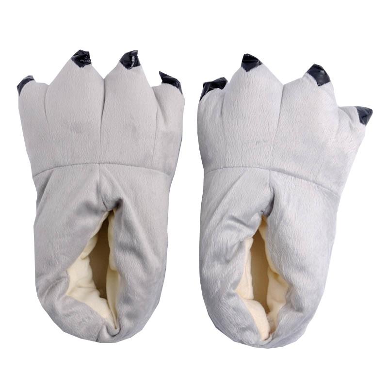 Pantofle Kigurumi Onesie Kigu Šedé