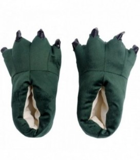 Pantofle Kigurumi Onesie Kigu Zelené