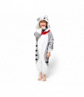 Kigurumi Onesie pyžamo kigu pro děti kocour