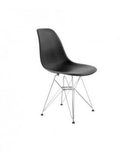 Židle paris milano logano DSR DSW ČERNÁ C-440