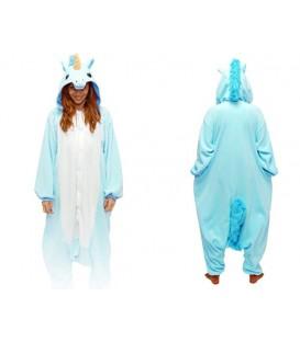 Modrý Pegasus KIGURUMI ONESIE TEPLÁKY PYŽAMO KOMBINÉZA KIGU