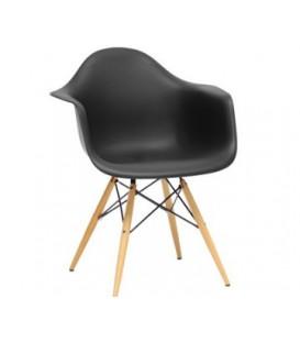 Moderní židle design modern daw retro ČERNÁ C-438