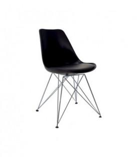 Moderní židle do jídelny design ČERNÁ C-517