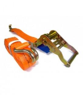 Upínací popruh kurt pás s hákem  12m 5t 50mm