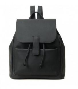 Kožená batoh  černá M96