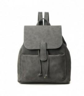Kožená batoh šedá M96