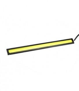 Světla pro denní svícení LED COB 17cm 12W pásek