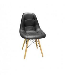 Čalouněná židle hoker lyon ČERNÁ C-400