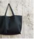 Dámská kožená kabelka velká šedá  WS1008