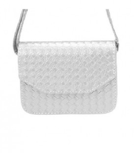 Dámská kabelka na rameno bílá WB1703