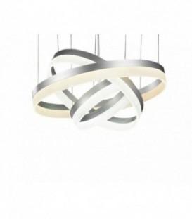 Lustr lampa kruhy obruče LED 20 + 40 + 60cm /1899