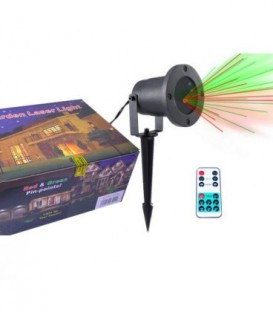 STAR SHOWER laser LASEROVÝ PROJEKTOR IP66 + OVLADAČ
