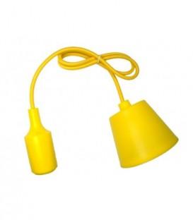 ZÁVĚSNÁ SILIKONOVÁ LAMPA - žlutý