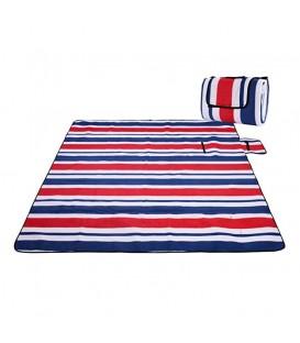 Pikniková plážová deka s izolací 200x200 - vzor 1