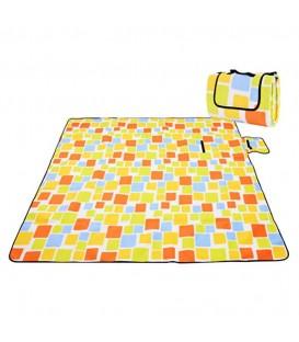 Pikniková plážová deka s izolací 200x200 - vzor 5