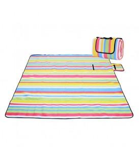 Pikniková plážová deka s izolací 200x150 - vzor 3