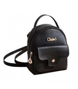 Kožená batoh malý černá