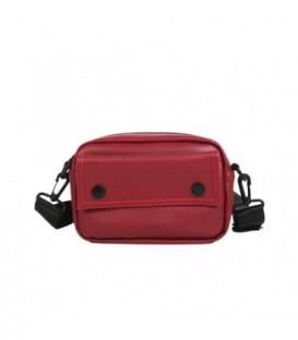 kabelka vak ledvinka na bedra ramena  červená