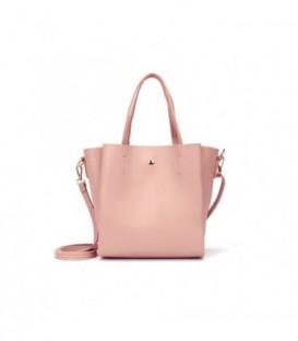 Dámská kabelka malý na rameno růžový