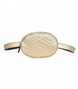 kabelka vak ledvinka na bedra ramena AB18032 zlato