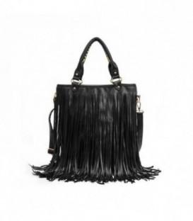 Dámská kabelka BOHO černá