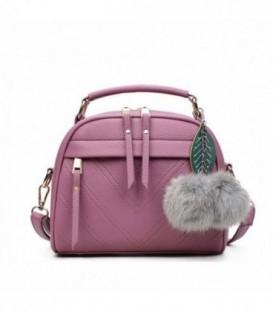 Dámská kabelka přívěsek růžový