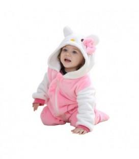 PYŽAMO oneie kigurumi pro děti HELLO KITTY