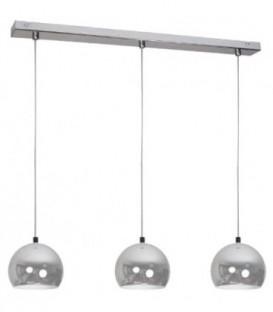MODELNÍ LAMPA BALL CHROM KOVOVÉ KOULE ZÁVĚSNÉ