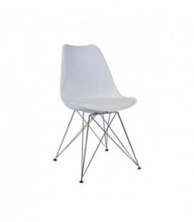 Židle paris milano logano DSR DSW bílá C-440