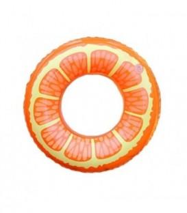 NAFUKOVACÍ MATRACE na plavání pomeranč kruh 80cm