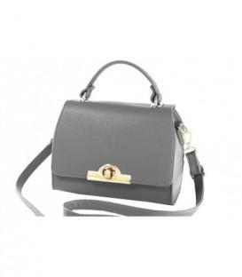 Dámská kabelka kufřík zarka kůže kožená WB15