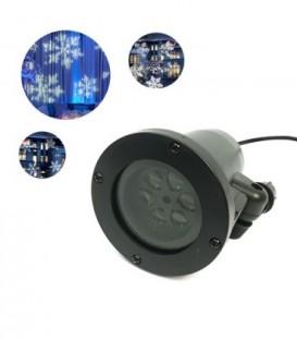 Laserový projektor hvězda zahradní slavnostní sprcha SF-1611